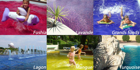 colorant pour eau colorer ma piscine - Colorant Pour Piscine