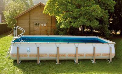 Piscine hors sol demontable for Piscine zodiac pas cher